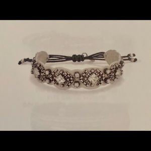 Stella & Dot Chiara embroidered bracelet